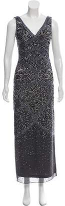 Aidan Mattox Embellished Maxi Dress w/ Tags