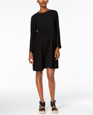 Eileen Fisher Silk Shift Dress $358 thestylecure.com