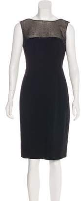 L'Agence Sleeveless Cocktail Dress