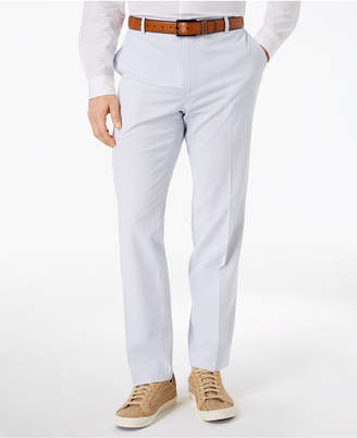 INC International Concepts I.N.C. Men's Stretch Slim-Fit Seersucker Pants, Created for Macy's