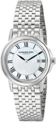 Raymond Weil Women's 5966-ST-00970 Tradition Analog Display Swiss Quartz Silver Watch