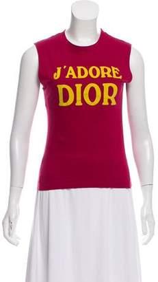 Christian Dior J'Adore Sleeveless Top