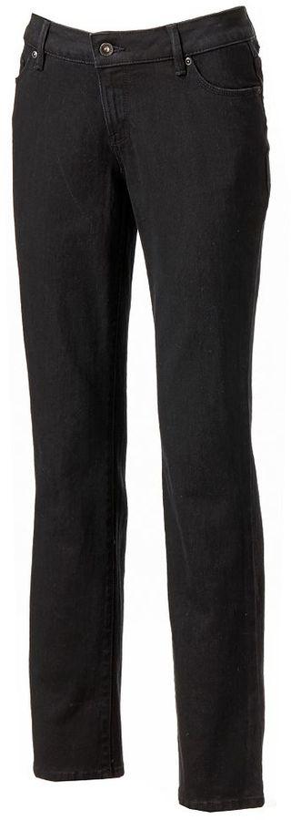 Sonoma life + style ® curvy straight-leg jeans - women's