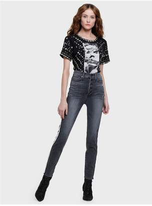 Alice + Olivia Good High Rise Skinny Jean