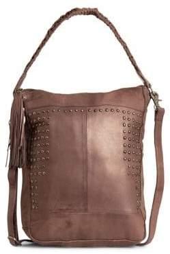 Day & Mood Emma Studded Leather Hobo Bag