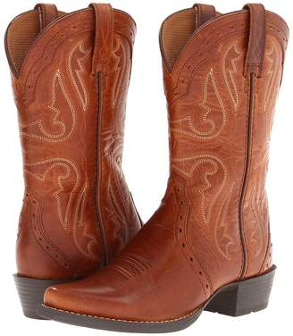 Ariat Heritage X Toe Cowboy Boots