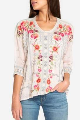 Johnny Was Carnation Blouse
