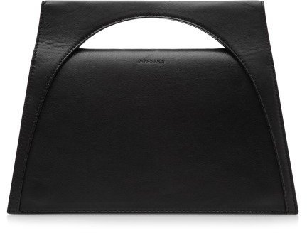 J.W.Anderson Moon Leather Clutch Black