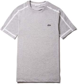 Lacoste Men's Crew Neck Thick Piping Cotton Petit Pique T-shirt