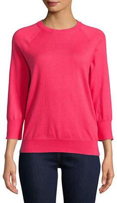 Equipment Desi Cashmere-Blend Crew Neck Sweater