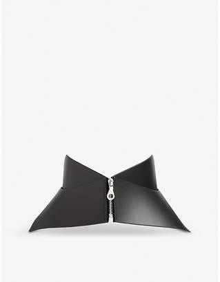 Fleet Ilya Zip Point leather corset