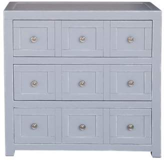 Rosecliff Heights Milton Apothecary Style 3 Drawer Accent Chest