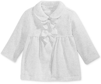 First Impressions Baby Girls' Bow-Front Coat, Only at Macy's $38.50 thestylecure.com