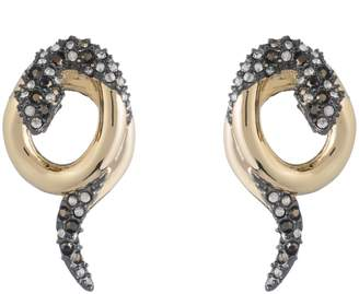 Alexis Bittar Coiled Snake Earrings