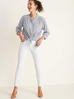 Old Navy White Super Skinny Ankle Jeans for Women