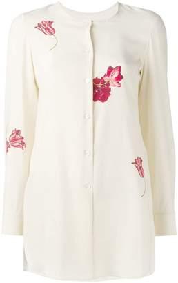 Salvatore Ferragamo floral-print shirt