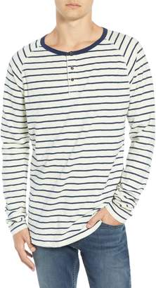 Scotch & Soda Stripe Henley T-Shirt
