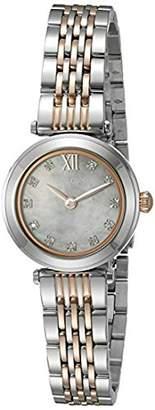 Bulova Women's Quartz Stainless Steel Dress Watch (Model: 98P156) $325 thestylecure.com