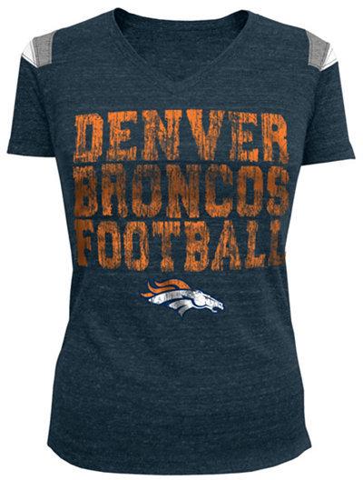 5th & Ocean Women's Short-Sleeve Denver Broncos T-Shirt