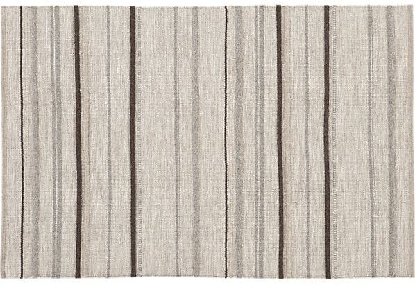 Crate & Barrel Paxton Bisque Rug