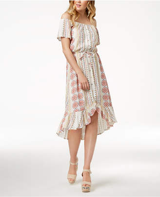 American Rag Juniors' Off-The-Shoulder Dress, Created for Macy's