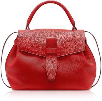 Lancel Charlie Medium Grained Leather Handbag