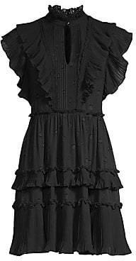 Kate Spade Women's Glitzy Ritzy Bakery Dot Devore Dress