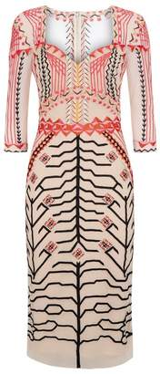 Temperley London Canopy Fitted Dress