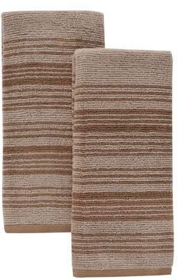 KitchenAid Horizon Stripe Kitchen Towels, Set of 2, Sand