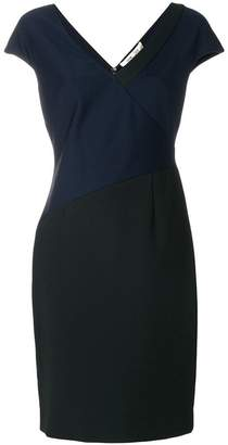 Diane von Furstenberg fitted panel dress