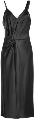Alexander Wang Twisted Satin Dress