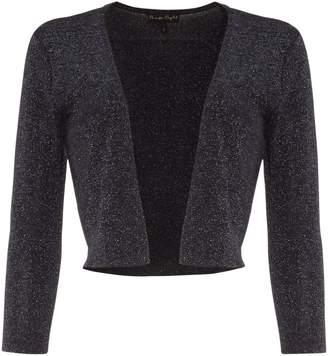 Phase Eight Shimmer Salma Knit Crop Jacket