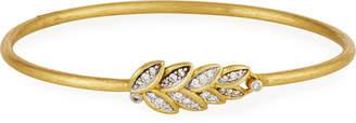Jude Frances Sonoma 18k Gold Diamond Bangle Bracelet