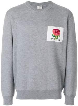 Kent & Curwen rose patch jumper
