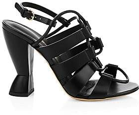 Salvatore Ferragamo Women's Sirmio X5 Leather Strappy Sandals