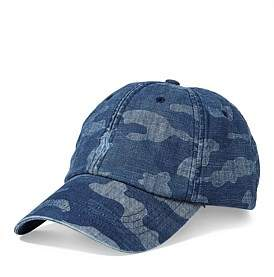 Polo Ralph Lauren Mens Camo Cotton Baseball Cap