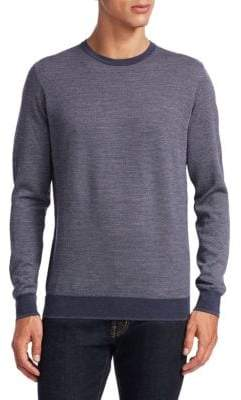 Saks Fifth Avenue COLLECTION Birdseye Merino Wool Sweater