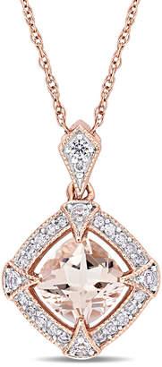 Rina Limor Fine Jewelry Fine Jewelery 10K Rose Gold 1.15 Ct. Tw. Diamond & Gemstone Necklace