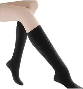 ONLINE Women's Casual Cotton Graduated Compression Socks