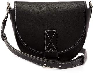 J.W.Anderson Bike Leather Saddle Bag - Womens - Black