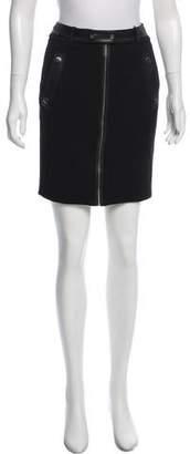 Andrew Marc Mini Pencil Skirt