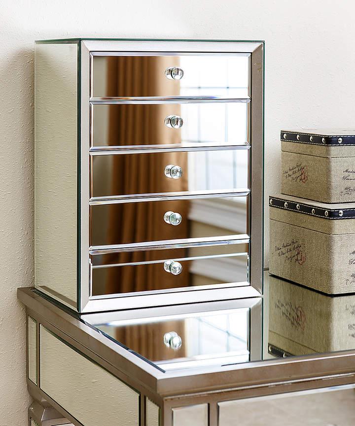 Omni-Mirror Five-Drawer Jewelry Box