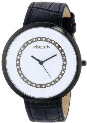Johan Eric Women's JE5002-13-007 Vejle Analog Display Quartz Black Watch