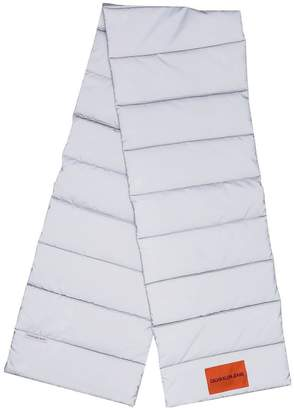 Calvin Klein Jeans reflective padded scarf