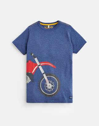 Joules Clothing Older ben Short Sleeve Artwork Tee