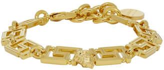 Versace Gold Empire Chain Bracelet