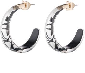 Alexis Bittar Futurist Hoop Earring