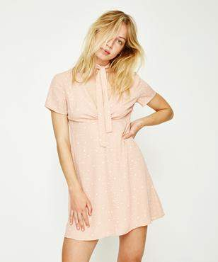 Alice In The Eve Starlight Choker Dress Rose Quartz