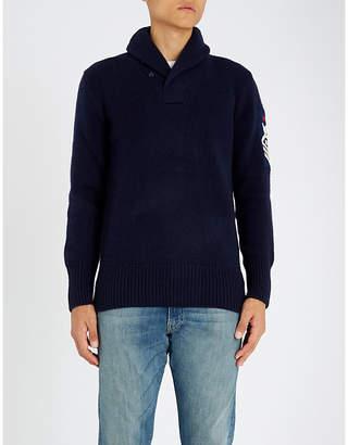 Polo Ralph Lauren Shawl collar wool jumper
