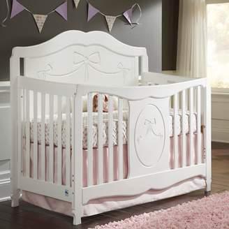 Stork Craft Princess 4-in-1 Convertible Crib